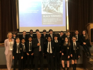 'Black Tommies' - Year 8 assembly